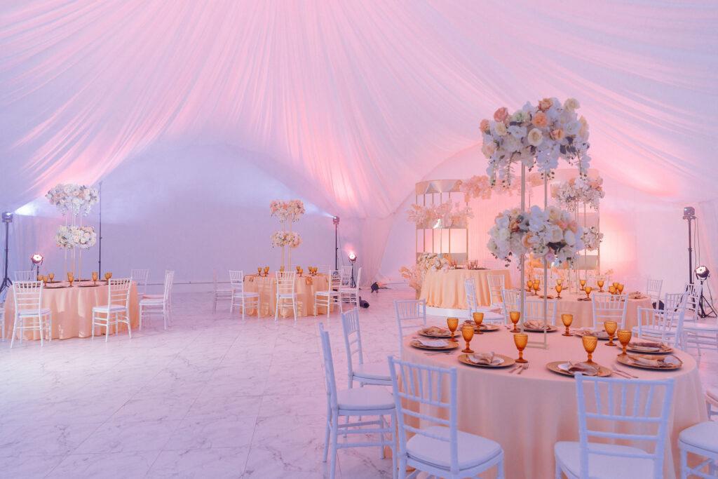 Свадебный зал в шатре